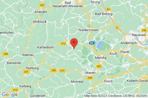 Karte Volkesfeld