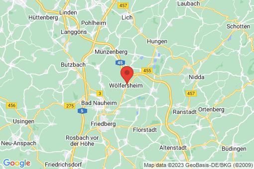 Karte Wölfersheim