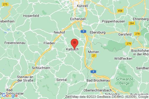 Karte Kalbach
