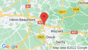 Carte de localisation du centre de contrôle technique FLERS EN ESCREBIEUX