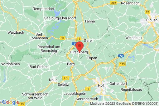 Karte Hirschberg
