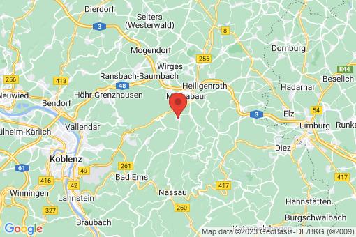 Karte Niederelbert