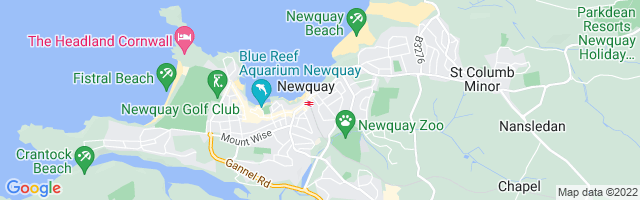 Map Of Newquay