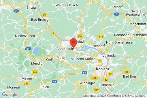 Karte Weißenthurm