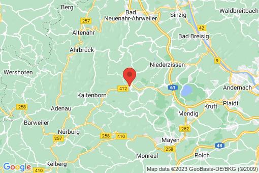 Karte Kempenich