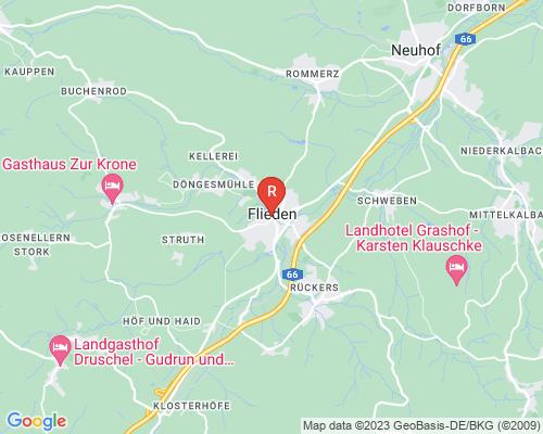 Google Karte von Rohrreinigung Flieden