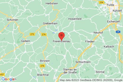 Karte Freiensteinau