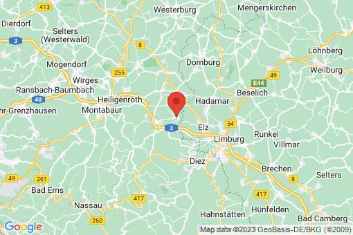 Karte Niedererbach