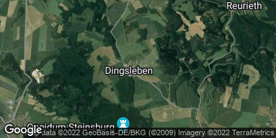 Google Map of Dingsleben