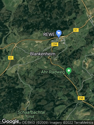 Google Map of Blankenheim