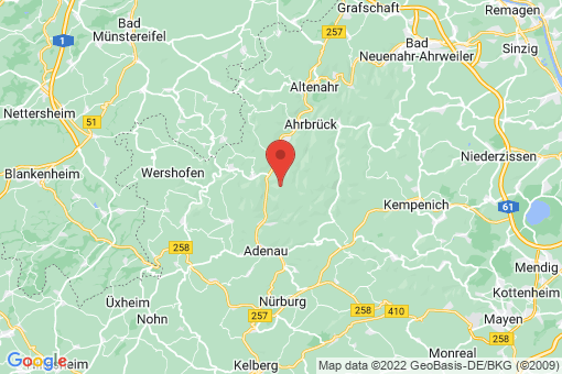Karte Dümpelfeld