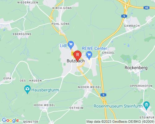 Google Karte von Rohreinigung Butzbach