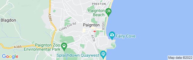 Map Of Paignton