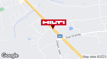 Get directions to Hilti Store Namur (Wierde)
