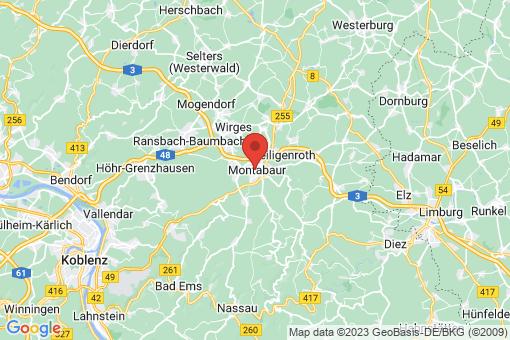 Karte Montabaur