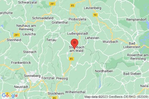 Karte Steinbach am Wald