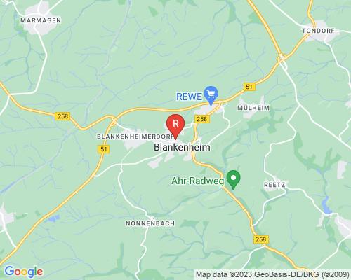 Google Karte von Rohrreinigung Blankenheim