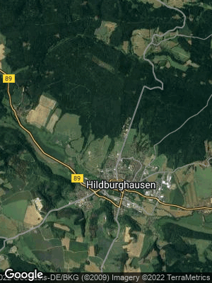 Google Map of Hildburghausen