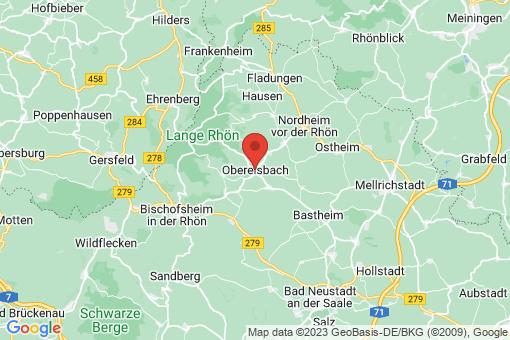 Karte Oberelsbach
