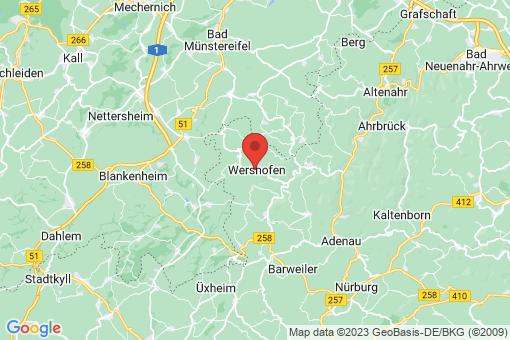 Karte Wershofen