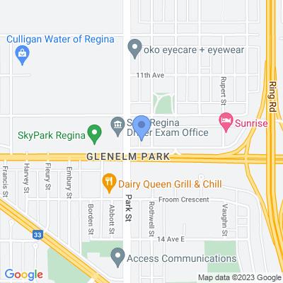 TJ's Pizza - Victoria Ave Map