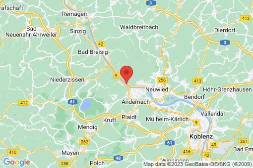 Karte Leutesdorf