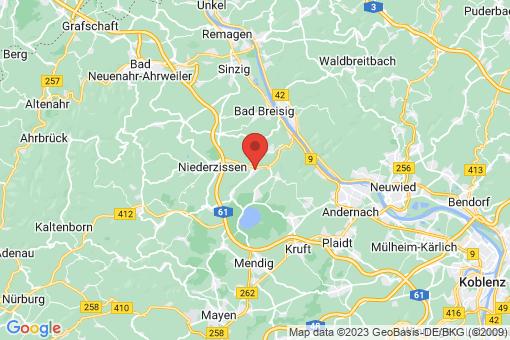 Karte Burgbrohl