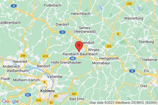 Karte Ransbach-Baumbach