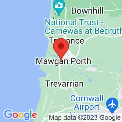 Map showing Cornish Fresh