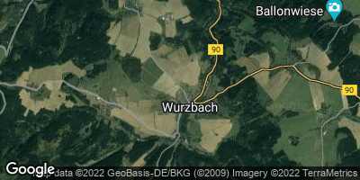 Google Map of Wurzbach