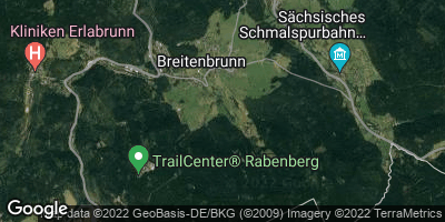 Google Map of Breitenbrunn / Erzgebirge