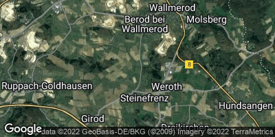 Google Map of Steinefrenz