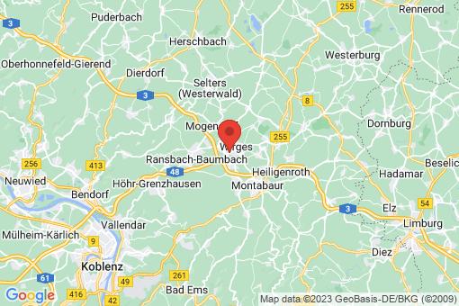 Karte Dernbach (Westerwald)