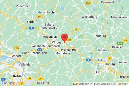 Karte Bannberscheid