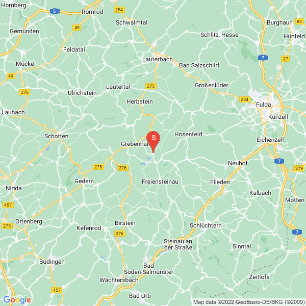 Disc Golf-Anlage Freiensteinau / Nieder-Moos