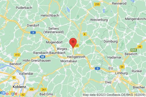 Karte Mogendorf