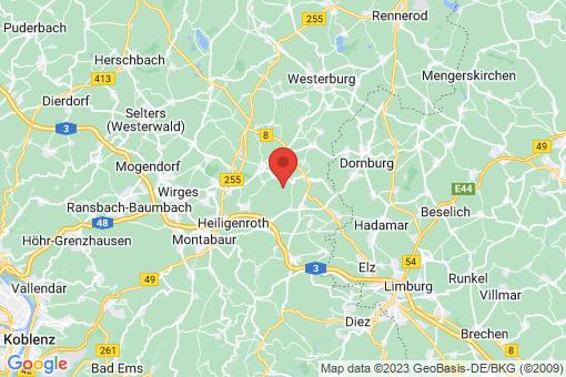 Karte Zehnhausen bei Wallmerod