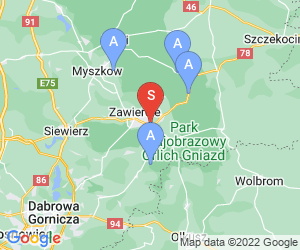 Karte für Cezar Centrum Bankietowo Noclegowe
