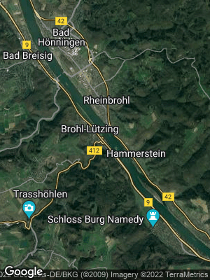 Google Map of Brohl-Lützing
