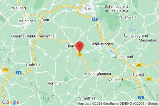 Karte Ehrenberg