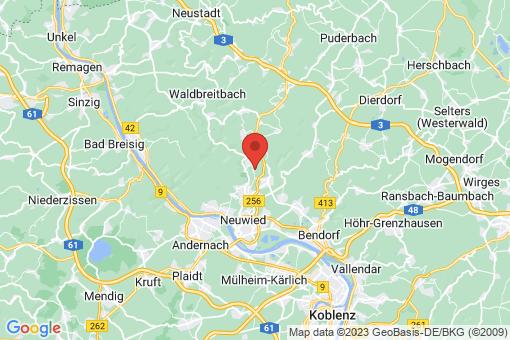 Karte Melsbach