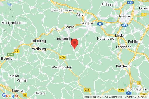Karte Braunfels Neukirchen