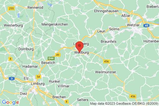Karte Weilburg
