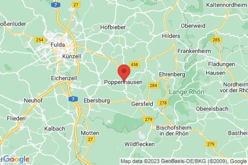 Karte Poppenhausen