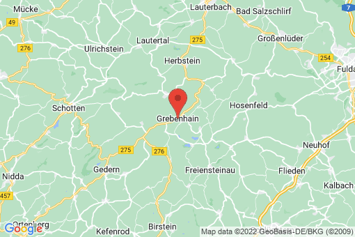 Karte Grebenhain
