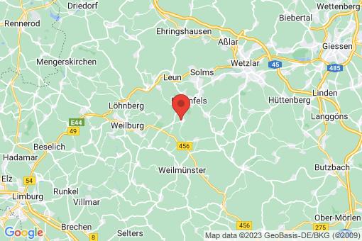 Karte Braunfels Philippstein