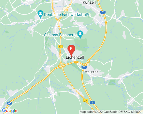 Google Karte von Rohrreinigung Eichenzell