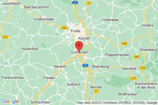Karte Eichenzell
