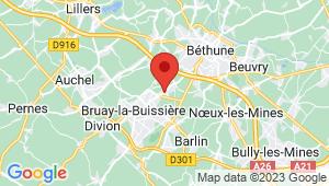 Carte de localisation du centre de contrôle technique BRUAY LA BUISSIERE