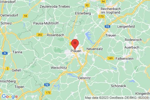 Karte Jößnitz